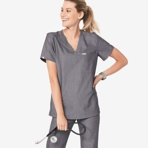 Wear FIGS Catarina scrub top